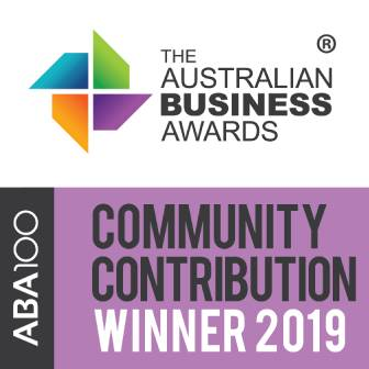 Australian Business Awards - Community Contribution Winner 2019 - TechnologyOne