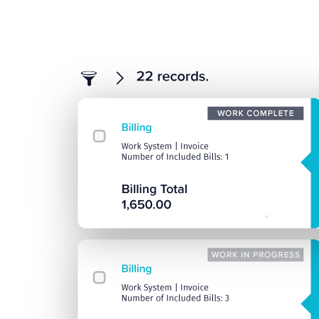Work Billing - TechnologyOne