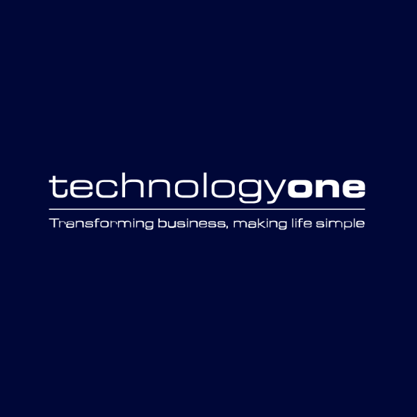 TechnologyOne Dark Logo with Tagline