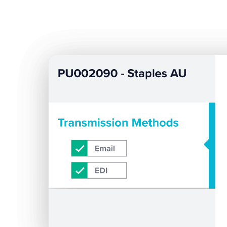 Purchase Order Transmission - Supply Chain Management product - TechnologyOne
